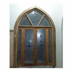Wooden Glass Window