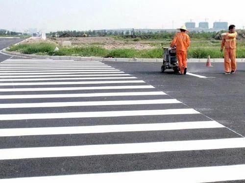 Thermoplastic Road Marking Paint थरमोप्लास्टिक रोड
