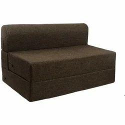 Black EP Plus Foam Sofa Cum Bed