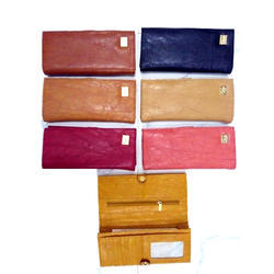 Plain PU Ladies Wallet