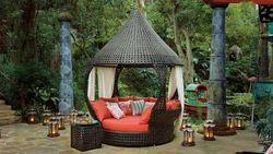 Wicker Garden Gazebo