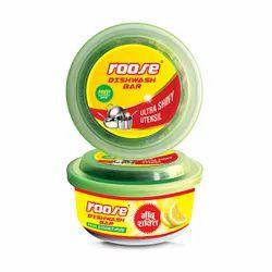 Plastic Box Roose Dish Wash Bar, Pack Size: 400 Gram & 700 Gram