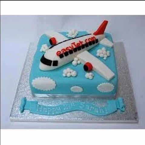 Awe Inspiring Aeroplane Cake Any Flavor At Rs 2400 Kilogram Sushant Lok Funny Birthday Cards Online Inifofree Goldxyz