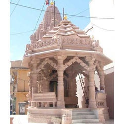 Brown Sandstone Carving Temple