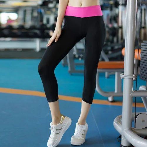 93c40ca075757 Polyester Legging Womens Gym Wear Capri S, Rs 200 /piece | ID ...