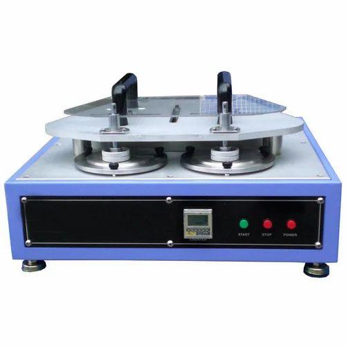 Martindale Abrasion Tester at Rs 105000/unit | मार्टिनडेल एब्रेशन टेस्टर -  Advance Techo, Ghaziabad | ID: 19074860491