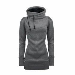 Ladies Grey Hoodie