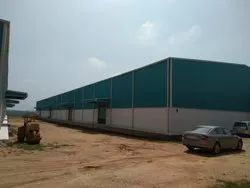 Steel / Stainless Steel Industrial Roof Shed