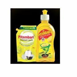 Pitambari Dishwash Liquid, For Dish Washing, Packaging Size: 150 & 250 Ml
