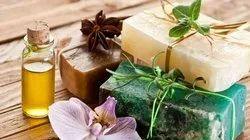Square OLIVE OIL SOAP, Antifungal, 6 Pcs