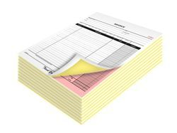 Carbonless Paper Bill Book Printing Services