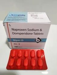 Naproxen Sodium And Domperidone Tablets