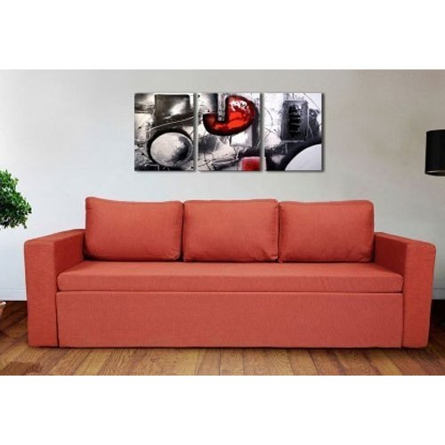 Office Sofa Set, Seating Capacity: 3 Seater