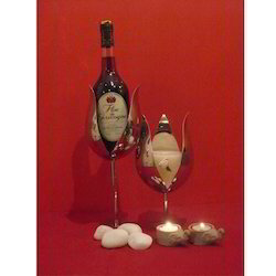 Lotus Shape Wine Bottle Holder