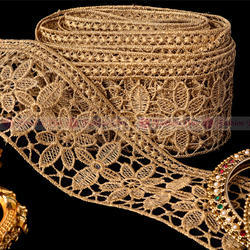 Beautiful And Elegant Zari Lace