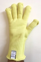 Kevlar Knitted Dupont Yarn Gloves 300 to 400 14 Inch Midas