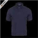 Plain Half Sleeve Collar Pc Jk Premium T Shirt, Size: S - Xxl