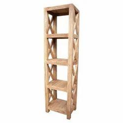 Movable Bookcase Book Case Shelf Modern Steel
