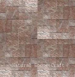 Mosaic Antique Slate Wall Tiles, Thickness: 10-15 mm