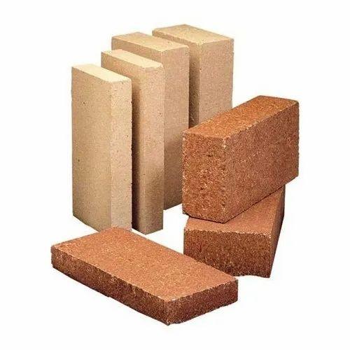 Alumina Side Walls Fire Bricks, Size: 9x4.5x3 Inch