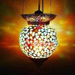 Himanshu handicraft LED Hanging Ball Lamp Shade, for Decoration