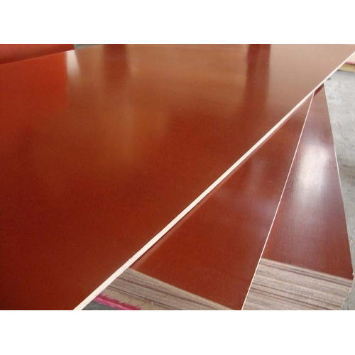 Red Glossy Film Faced Plywood Thickness 12 Mm Rs 60 Square Feet