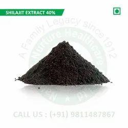 Shilajit Extract 40% (Pure Shilajit Extract, Shudh Shilajit Extract, Extract Asphantum)