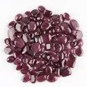 Natural Ruby in Brilliant Cut Gemstones in Assortment for Jewelry Making