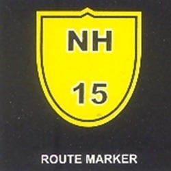 Route Marker For Highways