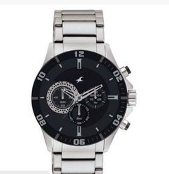 Fastrack Big Time Chronograph Watch for Men ND3072SM02