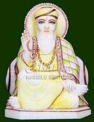 Marble Guru Nanak Statue