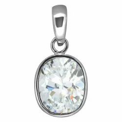 Zircon Silver Pendent Astrological Gemstone