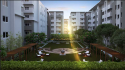 2 BHK Living Apartment Contraction