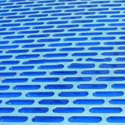 Oblong Holes Perforated Sheet