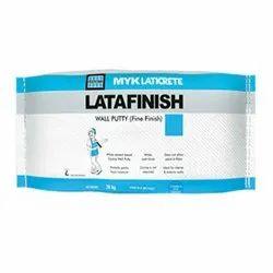 MYK LATICRETE Epoxy Latafinish Fine Finish Wall Putty, Packaging Size: 20 Kg, Packaging Type: Bag