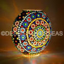 Acc To Standard Mosaic Table Lamp
