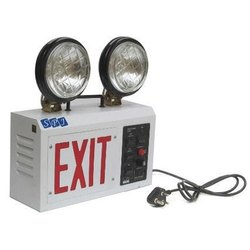 Twin Beam Emergency Light