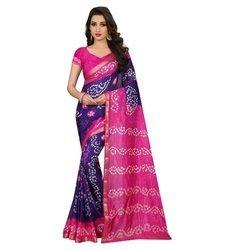 Ladies Wear Bandhani Saree