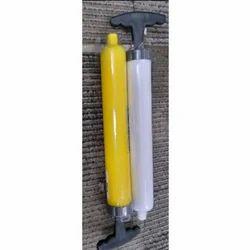 Portable Soccer Football Infiltrator Compact Hand Air Ball Pump with Needle Adap