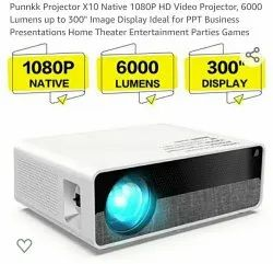 Punnkk X10 Full HD Projector With 2 Years Warranty