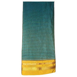 100% Cotton Ladies Cotton Saree, Without Blouse