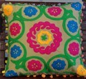 Indian Suzani Cotton Pillow Cover