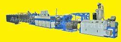 PP / HDPE Raffia Tape Stretching Line Appl-RF70