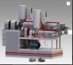 Micro PP Coating Box Strap Extrusion Line