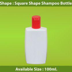 Square Shape Shampoo Bottle