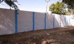 Modular Build Precast Boundary Wall
