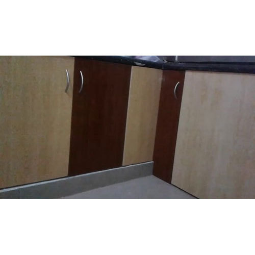 Pvc Kitchen Cabinet Doors: Hinged Door PVC Kitchen Cabinet, Rs 320 /square Feet