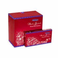 Satya Red Jewel Dhoop Sticks
