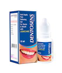 Antiseptic Pain Relieving Gum Paint With Lignocaine
