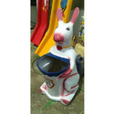 Animal Shape Rabbit Dustbin